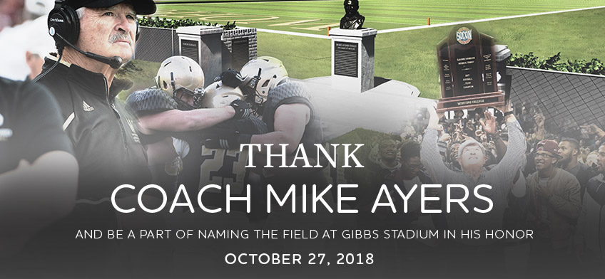 Coach Ayers Tribute Banner